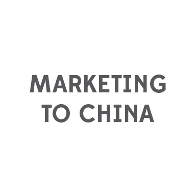 Marketing to China