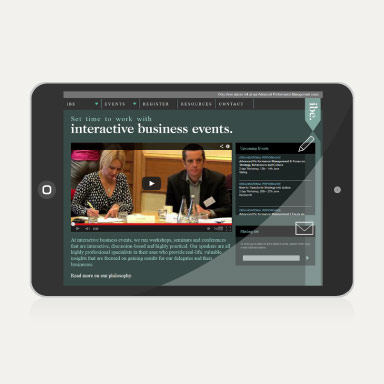 Interactive Business Events