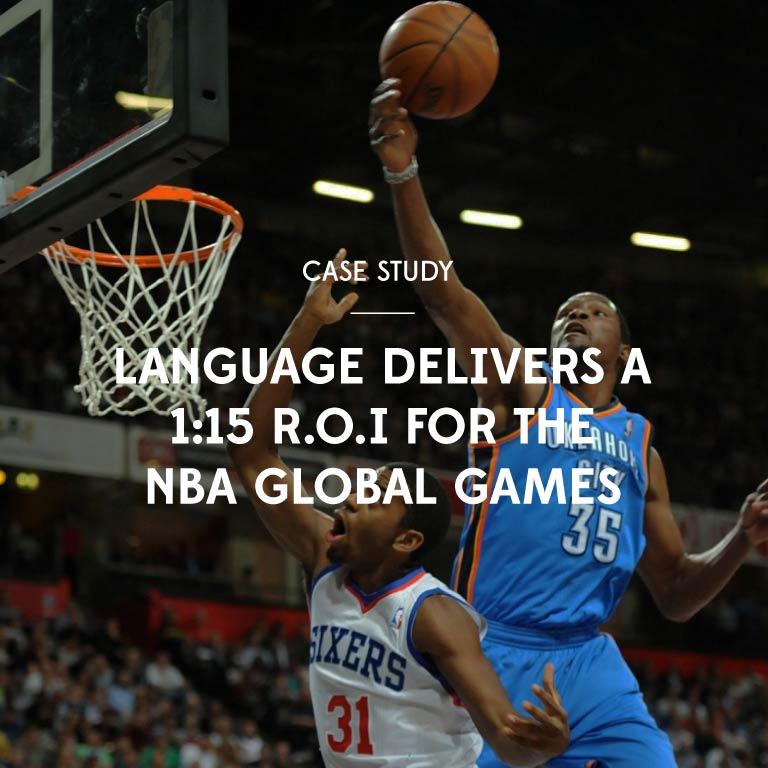 Case Study - NBA Global Games